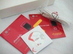 Box LG KG800 CD, Cable White