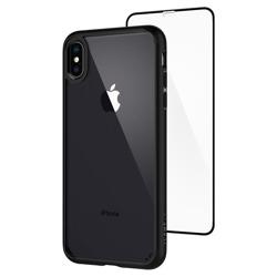 Case SPIGEN iPhone X XS Ultra Hybrid 360 Matte Black Black Apple Case