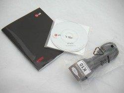 LG KF600 CD box, cable