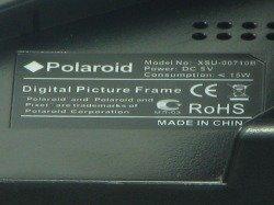 "POLAROID Photo Frame 7-inch LCD XSU-00710B"""