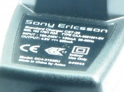 SONY ERICSSON CHARGER CST-20 K700I T630 P910