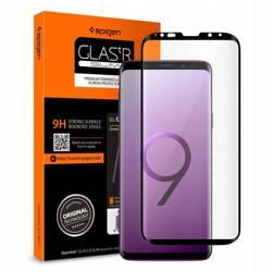 Tempered glass SPIGEN GLAS.TR Case Friendly Samsung Galaxy S9 Plus G965 Black