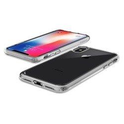 Ultra Hybrid Case SPIGEN Apple iPhone X + Xs Transparent Clear Glass Case SPIGEN