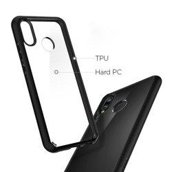 Ultra Hybrid Case SPIGEN Huawei P20 Nova Lite 3e Black Case