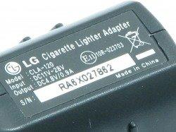 Autoladegerät LG CLA-120 Für KG320 KG800 KU800 Schokolade KG810 KE820 KE850 Prada KE970 Shine KU990 Viewty