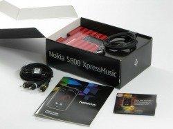 Box NOKIA 5800 Xpressmusic Treiber Kabel Handbuch