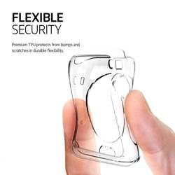 Etui SPIGEN Flüssigkristall-Apple Watch 4 5 (44 mm) Klares Przeźroczyste-Gehäuse