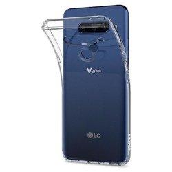 Etui SPIGEN Flüssigkristall LG V40 Thinq Crystal Clear Przeźroczyste Fall