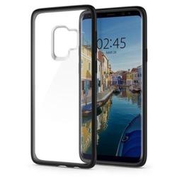 Etui SPIGEN Ultra Hybrid Samsung Galaxy S9 Mattschwarzes Gehäuse