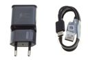 Oryginalna ŁADOWARKA SAMSUNG Fast Charging + Kabel USB-C Galaxy S8 S9 Plus Czarna