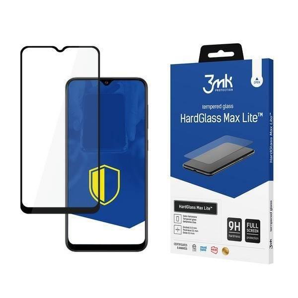 3MK HG Max Lite Samsung A03s 4G czarny/black