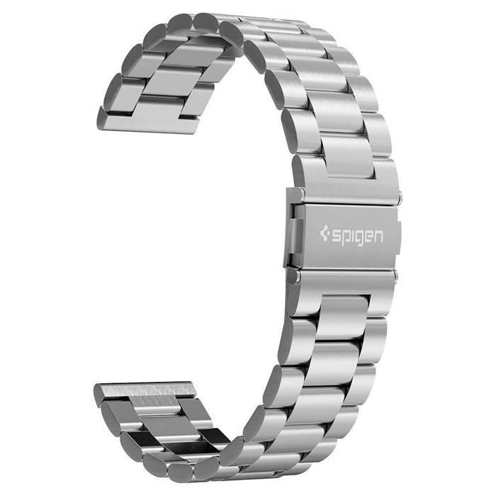 Bransoletka Pasek SPIGEN Samsung Galaxy Watch 46mm Modern Fit Band Srebrna
