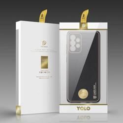 Dux Ducis Yolo eleganckie etui pokrowiec ze skóry ekologicznej Samsung Galaxy A72 4G czarny