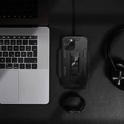 ETUI Futerał Forcell DEFENDER do IPHONE 13 PRO MAX czarny CASE
