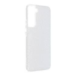 ETUI Futerał Forcell SHINING do SAMSUNG Galaxy S22 PRO srebrny CASE