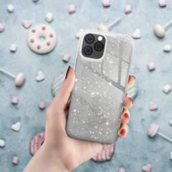 ETUI Futerał Forcell SHINING do SAMSUNG Galaxy S22 srebrny CASE