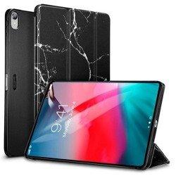 Etui ESR Marble Apple iPad Pro 11 2018 Black Czarne Case