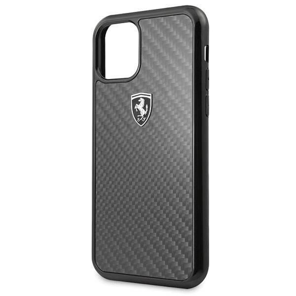 Etui FERRARI Apple iPhone 11 Pro Carbon Heritage Czarny Case