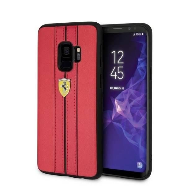 Etui FERRARI Samsung Galaxy S9 Urban Czerwony Case