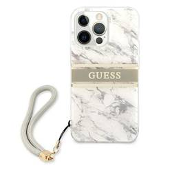 Etui GUESS Apple iPhone 13 13 Pro Marble Strap Collection Szary Hardcase
