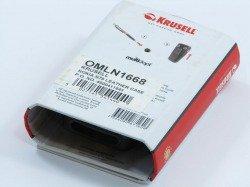 Etui KRUSELL Nokia N70 Oryginalne Futerał Pokrowiec Czarny Case