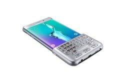 Etui Klawiatura SAMSUNG Galaxy S6 Edge Plus Keyboard Cover Silver Oryginalny Nowy