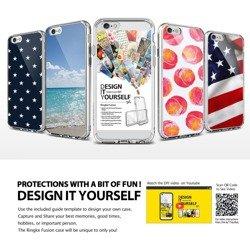 Etui RINGKE Fusion iPhone 6 4,7 Crystal View + Folia