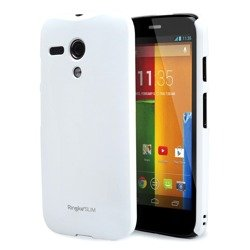 Etui RINGKE Slim Motorola Moto G White + Folia