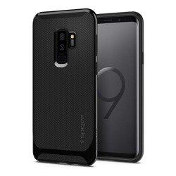 Etui SPIGEN Neo Hybrid Samsung Galaxy S9 Plus Shiny Black + Szkło SPIGEN Case