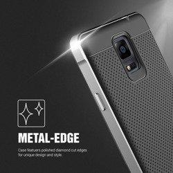 Etui Samsung Galaxy Note 4 VERUS Iron Shield Silver Jak Spigen SGP Pokrowiec