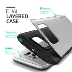 Etui Samsung Galaxy S6 VERUS Hard Drop Light Silver Jak Spigen SGP Pokrowiec