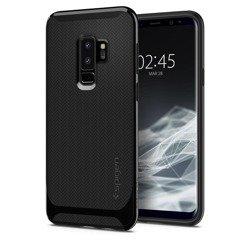 Etui Spigen Galaxy S9+ Plus Neo Hybrid Czarne Case Samsung Shiny Black