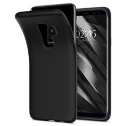 Etui Spigen Liquid Crystal Galaxy S9+ Plus Black Samsung Case Pokrowiec
