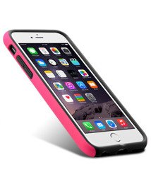 Etui iPhone 6 6S 4,7 MELKCO Dual Layer Pink / Black