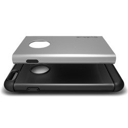 Etui iPhone 6 6S VERUS Pound Light Silver Jak Spigen SGP Pokrowiec