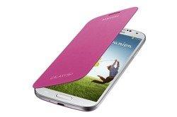 Futerał SAMSUNG Galaxy S4 SIV I9500 I9505 Pokrowiec Flip Etui EF-FI950BGESTA Pink Różowy