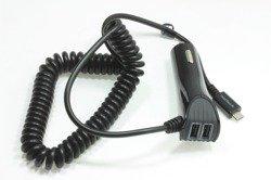 Ładowarka Samochodowa USB Naztech N420 2.4A + 2x1.2A Uniwersalna Apple Samsung Nokia Sony  Czarna