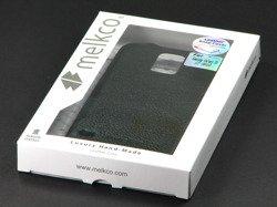 MELKCO Premium Leather Snap Cover Samsung Galaxy S5