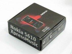 Pudełko NOKIA 5610 Xpressmusic CD Kabel