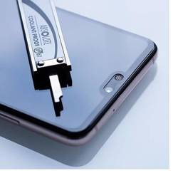 SZKŁO Hybrydowe 3MK FG MAX Samsung Galaxy A7 2018 Black