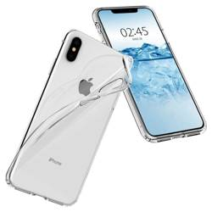 Spigen iPhone X XS Etui Liquid Crystal Clear Przezroczyste Case Apple