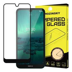 Wozinsky super wytrzymałe szkło hartowane Full Glue na cały ekran z ramką Case Friendly Nokia 1.3 czarny
