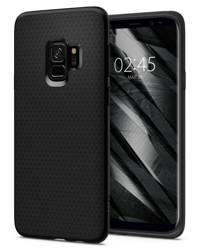 Etui Spigen Galaxy S9 Liquid Air Czarne Case Samsung